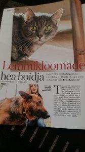 Hea lemmikloomade hoidja juunikuu Eesti Naises